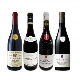 厳選ブルゴーニュ bourgogne 赤ワイン wine 4本セット set