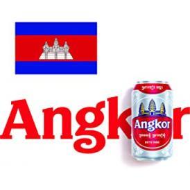 アンコールビール (カンボジア) 缶330ml×6本