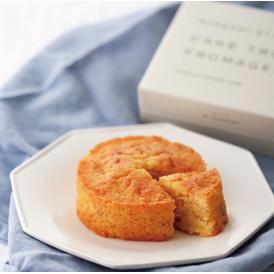 3種類のチーズをあわせた生地を、香り高くしっとり焼き上げたキハチのチーズケーキです。