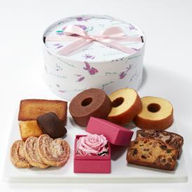 【送料無料】~Thanks Mother's Gift~ ローズと焼菓子のセット