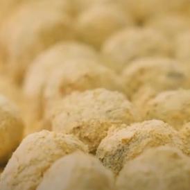 御城之口餅(おしろのくちもち) 【粒餡きな粉餅】【 6個入り 】【包装、熨斗不可!】