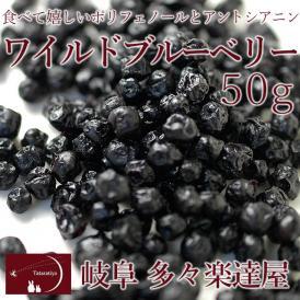 岐阜 多々楽達屋 ワイルドブルーベリー50g ドライフルーツ たたらちや クール冷蔵便 #8