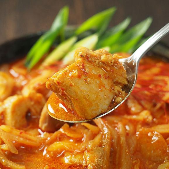 韓国タットリタン600g(鶏と野菜のピリ辛煮・約2人前)【タッカルビ・ダッカルビ】【冷凍便】#802