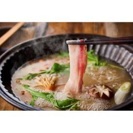 濃厚な脂身が特長のイベリコ豚のバラ肉をオリジナル和風だしで、深い風味とコクをご賞味ください。