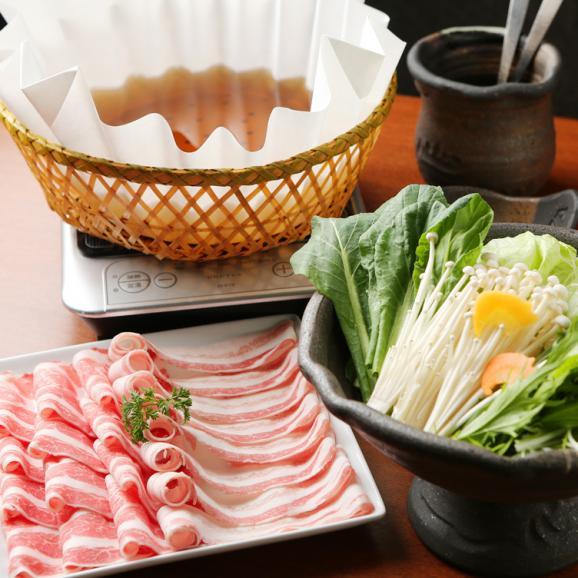 イベリコ豚 バラしゃぶ コラーゲン鍋セット バラスライス500g02