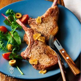 イベリコ豚 骨付き ステーキ 3枚入り 高級 骨付き肉 BBQ 焼肉 冷凍 イベリコ屋 ※ Lボーン 3枚360g