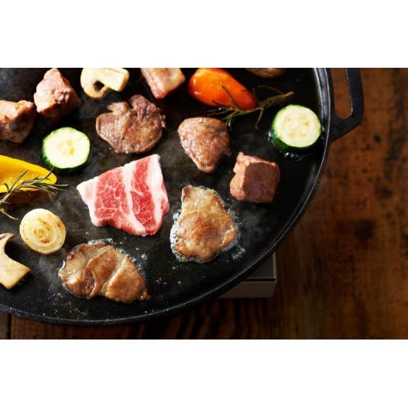 「イベリコ屋」最高級 贅沢イベリコ豚 バーベキュー BBQ 焼肉 食べ比べセット 4種 レアルベジョータ 350g 送料無料03