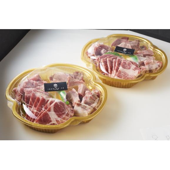 イベリコ豚焼肉4種セット 700g04