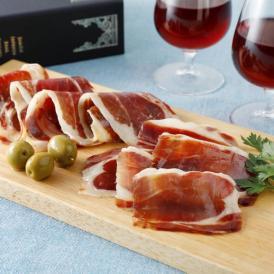 スペイン王室献上品! 最高級ランクのイベリコ豚を使用した生ハム、4年熟成と30か月熟成をセットに。