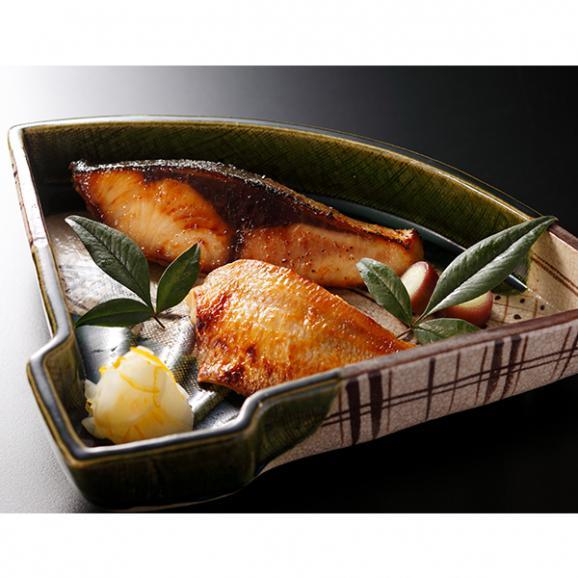 のど黒(あかむつ)と天然ぶりの味噌粕漬け01