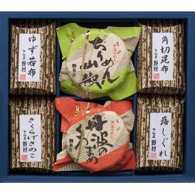京佃煮6品詰合せ「京のにぎわい」【お歳暮・ご贈答に】