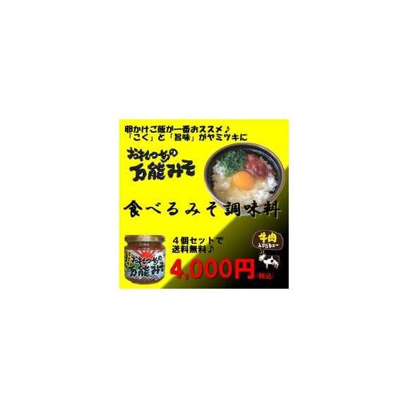 おれっちの万能味噌【4個セット(送料無料)】01