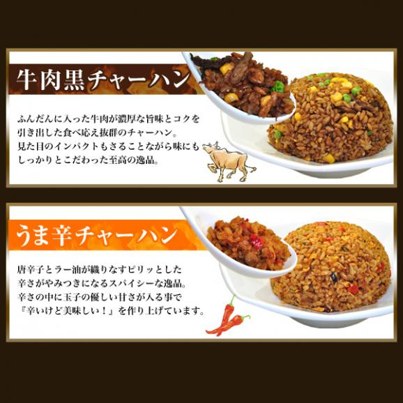 4種チャーハン&惣菜詰め合わせセット(計8商品/合計55個)【全国送料無料】05