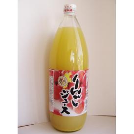 信州 りんごジュース(果汁100%・混濁ストレートタイプ)1L瓶×6本入り