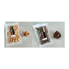 宮野ピーナッツの甘納豆3袋とイカ小判3袋の6袋セット