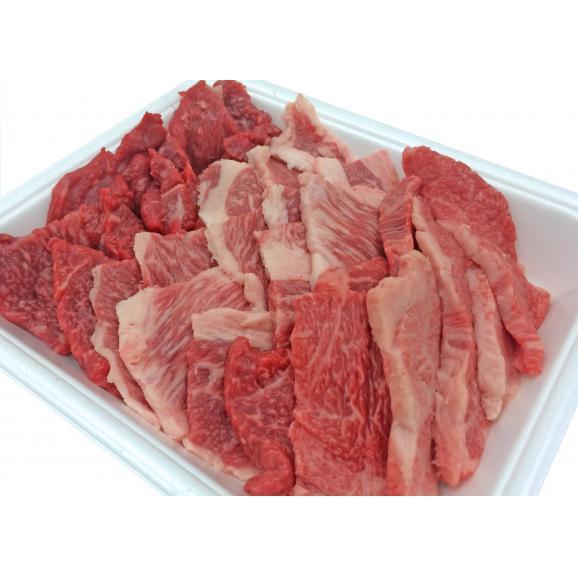 A5等級 神戸牛 BBQ・焼肉 セット (赤身・ ロース・カルビ) 500g03