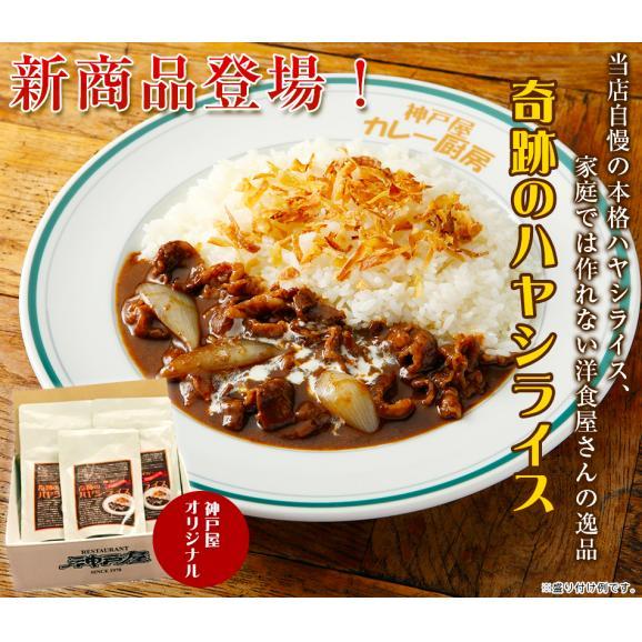 【送料無料】奇跡のハヤシライス(3食)+~80年伝統の味~ 須賀哲夫カレー(3食)セット02