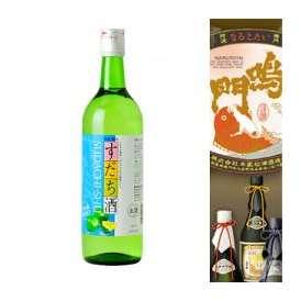 本家松浦酒造が贈る しゅムリエ すだち酒 720ml 女性に大人気