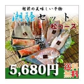 送料無料 日本海越前山下の潮騒セット~松コース