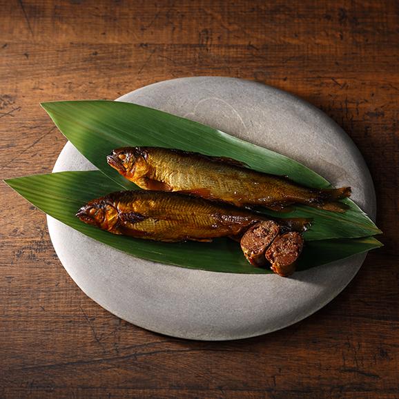 おりーぶ鮎の甘露煮・子持ち鮎の甘露煮食べ比べセット01