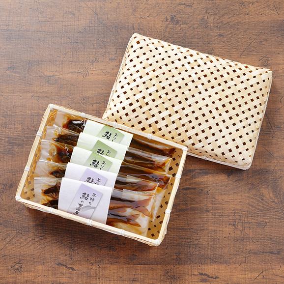 おりーぶ鮎の甘露煮・子持ち鮎の甘露煮食べ比べセット04