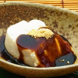 黒蜜de独楽豆腐 もちもちのごま豆腐と黒蜜6個セット(80g×6)