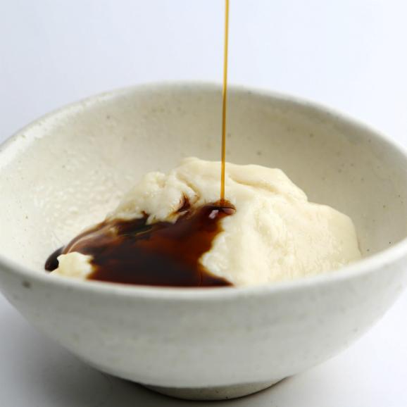 黒蜜de独楽豆腐 もちもちのごま豆腐と黒蜜5個セット(80g×5)03