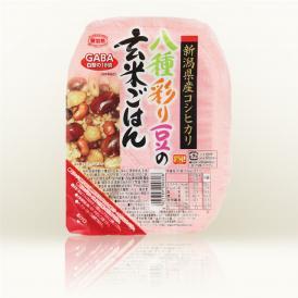 八種彩り豆の玄米ごはん 150g(12食セット)