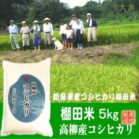 【棚田米】新潟県産コシヒカリ(高柳地区限定)(平成30年)5kg【送料無料(本州のみ)】