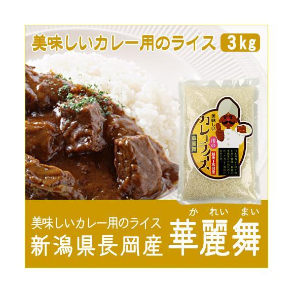 新潟県長岡産美味しいカレー用のライス(令和2年産)3kg01
