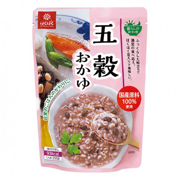 はくばく 五穀おかゆ (250g)01