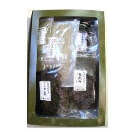 「がごめ昆布製品セット」(根昆布、刻み、とろろ、粉末)使い方パンフレット付き  尾道の昆布問屋