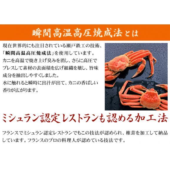 焼かにだし 8gx25袋 だしパック(ズワイガニの殻、爪を瞬間高温高圧焼成加工 素材が生み出す万能和風だし)04