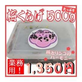 【業務用】<梅くらげ500g(クラゲ)>【冷蔵便・冷凍便同梱可】