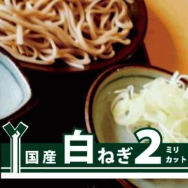 【イベント・町内会・学祭・店舗・屋台用】細かい切り幅でも鮮度しっかり!うどん・蕎麦に最適   白ねぎ2ミリカット 1kg