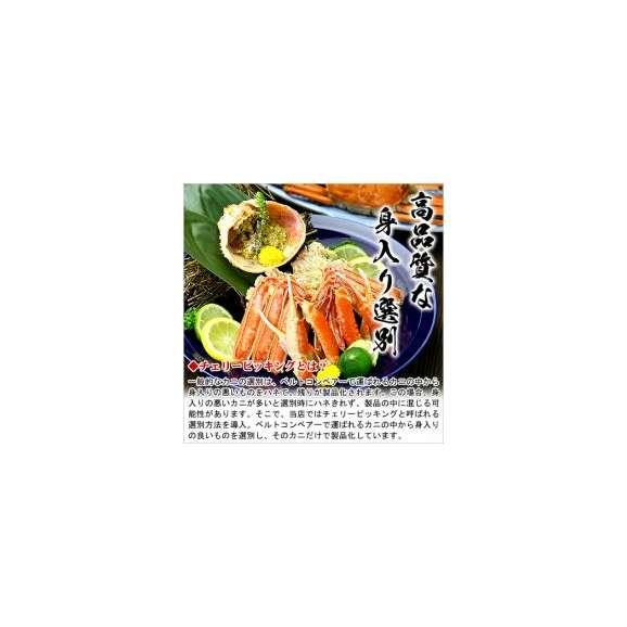 【特大】ボイルずわい蟹/姿3kg(750g前後×4尾入り)[送料無料]※こちらの商品は他の商品と同梱不可となっております【カニ】【かに】【蟹】あす着03