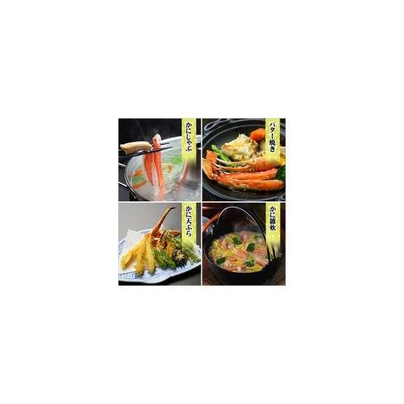 【生食OK】カット生ずわい蟹(ファミリーパック/青箱)[送料無料]内容量1000g/総重量1300g約4人前※たっぷり食べたい場合は2セット購入がお勧め!【カニ】【かに】【蟹】03
