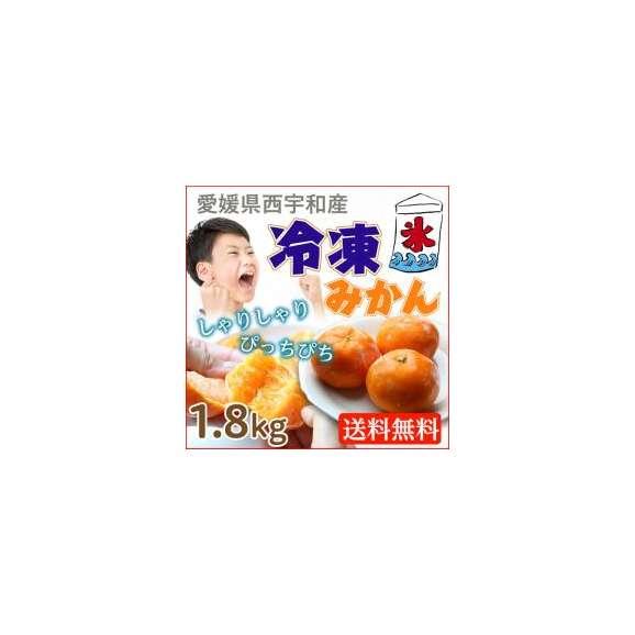 極甘さっぱり冷凍みかん600gx3袋【愛媛県産八協ブランドみかん1.8kg送料無料】甘味濃縮なつかしの冷凍みかん!