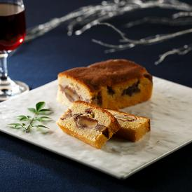 銀座の銘店プロデュース。丹波栗をはじめ、国産の和栗のみを厳選して使用して焼き上げた焼き菓子です。