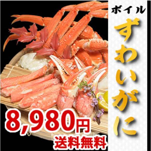ずわいがに(3L) 約2kg ボイル 【送料無料】01