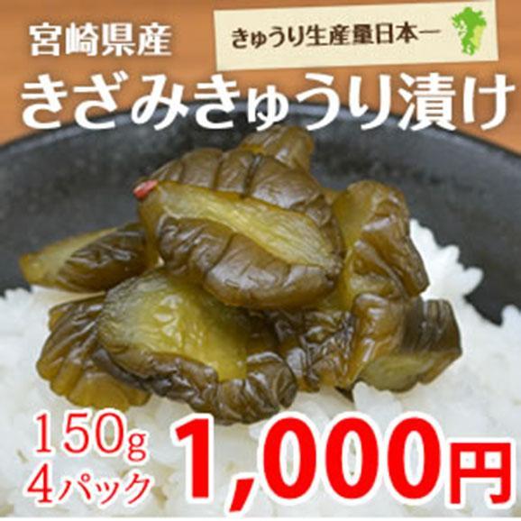 宮崎県産 きざみきゅうり漬け01