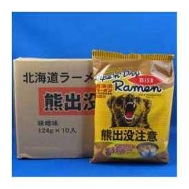 熊出没注意ラーメン みそ味10袋入1箱