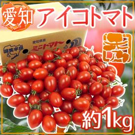"""愛知県産 """"アイコトマト"""" 秀品 約1kg【予約 11月下旬以降】"""