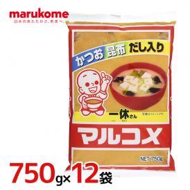 """マルコメ """"一休さん"""" 750g×12袋(1ケース)"""