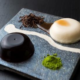 水菓子ギフト「葵」(あおい)豆乳ぷりんと黒わらび餅6個入り