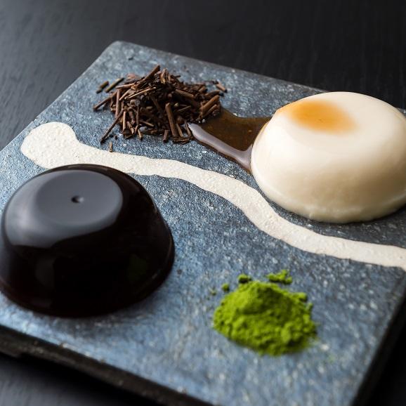 水菓子ギフト「葵」(あおい)豆乳ぷりんと黒わらび餅6個入り01