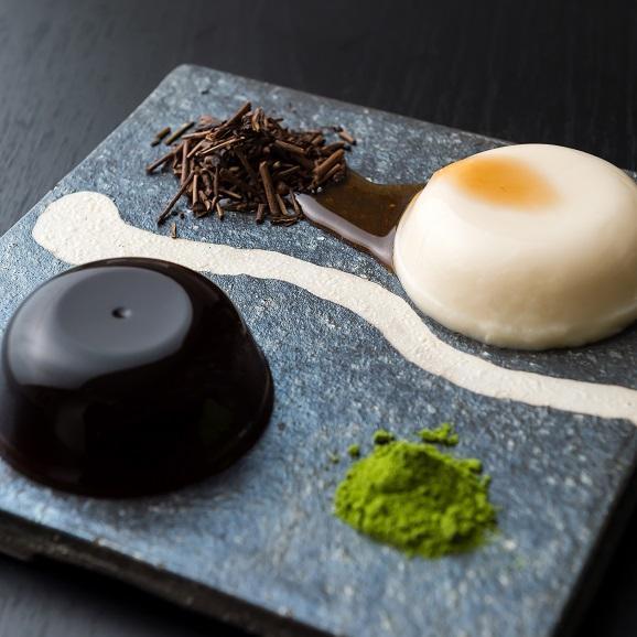 絹仕立て豆乳ぷりんと黒わらび餅詰め合わせ12個入り 「響」(ひびき) 2種類各6個入り02