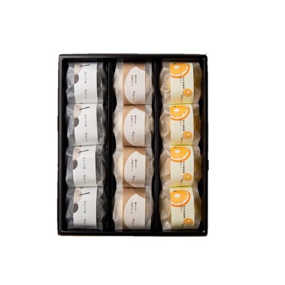 水菓子ギフト「澪(みお)」豆乳ぷりんと黒わらび餅、煎茶ぜりー12個詰合せ02