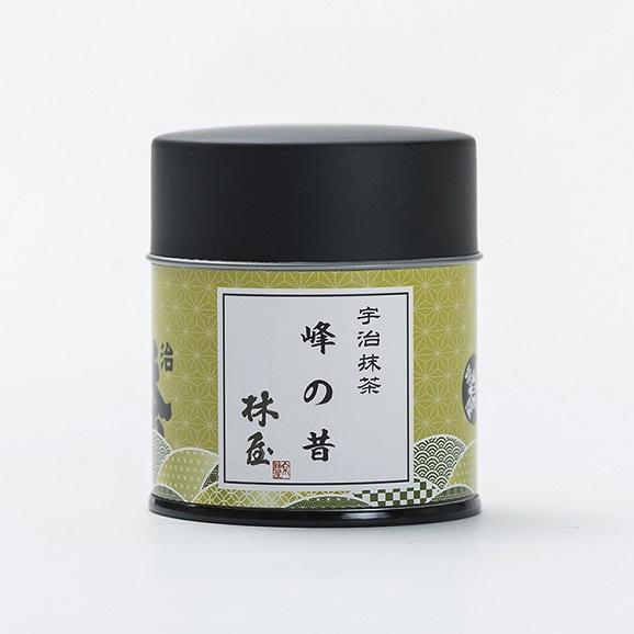 抹茶/峰の昔(40g缶)01