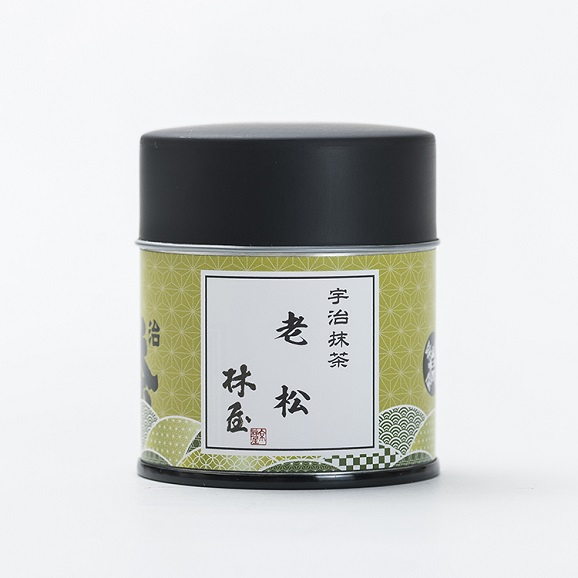 抹茶/老松(40g缶)01